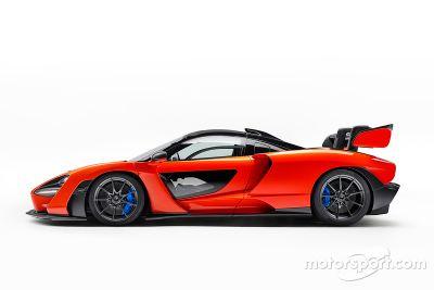 Lançamento McLaren Senna