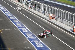 Daniel Abt, Audi Sport ABT Schaeffler returns to the garage as Jose Maria Lopez, Dragon Racing, leaves the pits