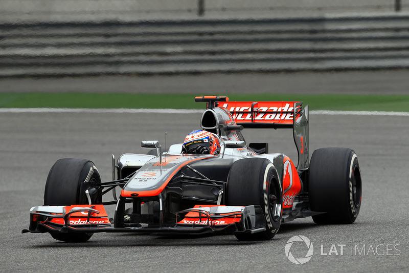 3: Jenson Button: 230 grandes premios (el 76,16% de los disputados)