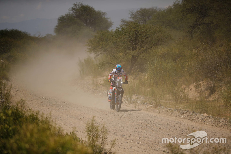 #49 Hero MotoSports Team Rally: CS Santosh
