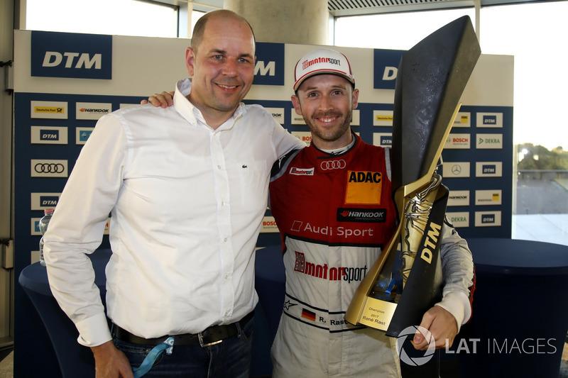 Рене Раст, Audi Sport Team Rosberg, Audi RS 5 DTM, та Денніс Ростек