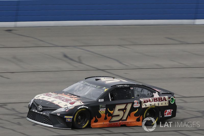 35. Timmy Hill, No. 51 Rick Ware Racing Toyota Camry