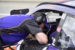 Denny Hamlin, Joe Gibbs Racing, Toyota Camry FedEx Freight crew chief Mike Wheeler