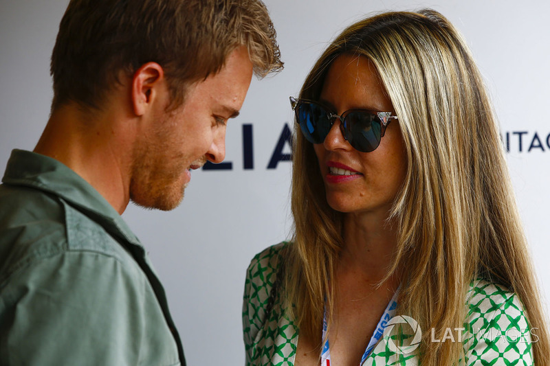 Nico Rosberg con su esposa Vivian Sibold
