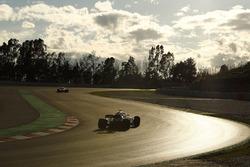 Lance Stroll, Williams FW41, at sunset