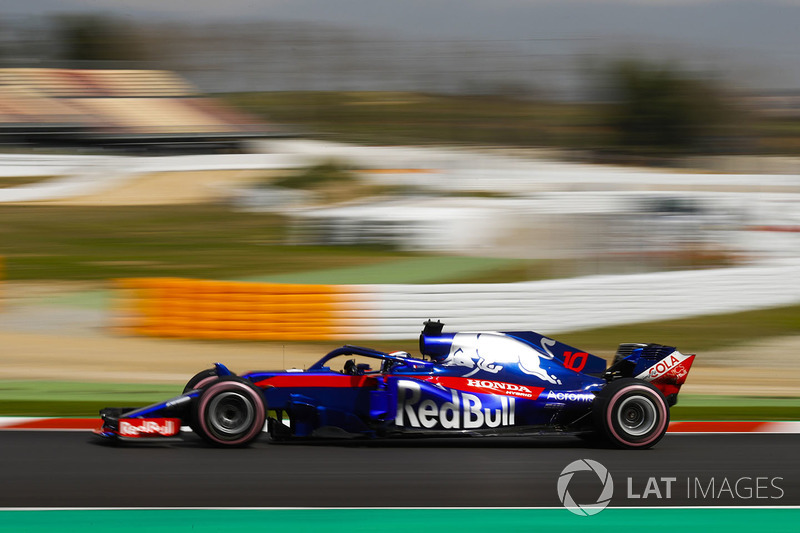 #10 Pierre Gasly, Scuderia Toro Rosso