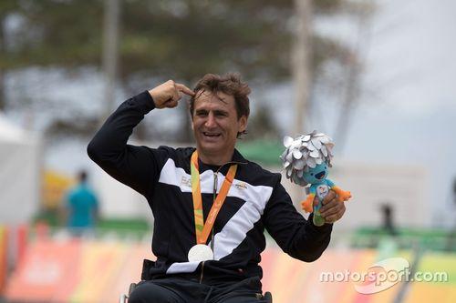Alex Zanardi aux Jeux Paralympiques