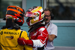 Jack Aitken, Arden International; Charles Leclerc, ART Grand Prix