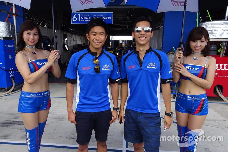 #61 R&D Sport, Subaru BRZ: Takuto Iguchi, Hideki Yamauchi