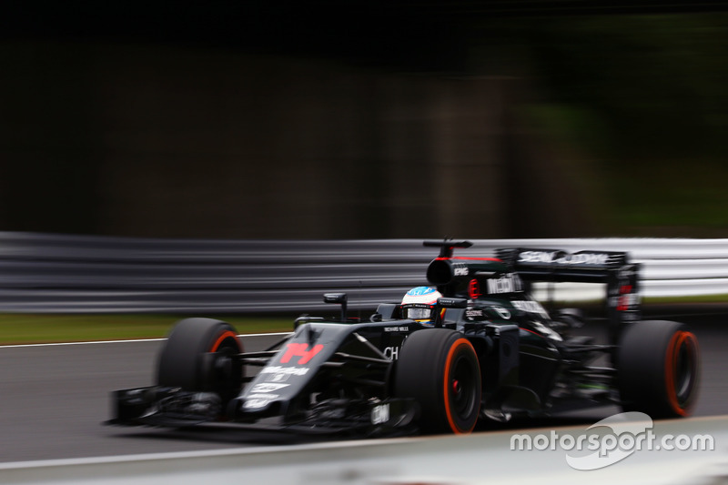 15. Fernando Alonso, McLaren MP4-31