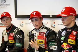 Press Conference: Joel Eriksson, Motopark Dallara F316 – Volkswagen; Callum Ilott, Van Amersfoort Racing Dallara F312 - Mercedes; Niko Kari, Motopark Dallara F316 – Volkswagen