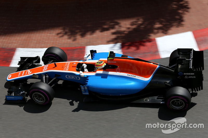 rRio Haryanto, Manor Racing