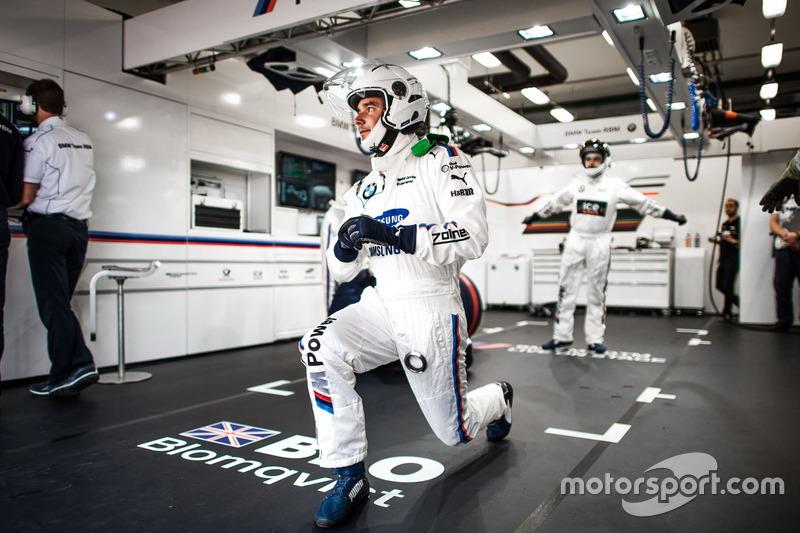 Mechanis of Tom Blomqvist, BMW Team RBM, BMW M4 DTM
