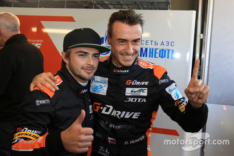 LMP2 Polesitters #26 G-Drive Racing Oreca 05 - Nissan: Roman Rusinov, Will Stevens