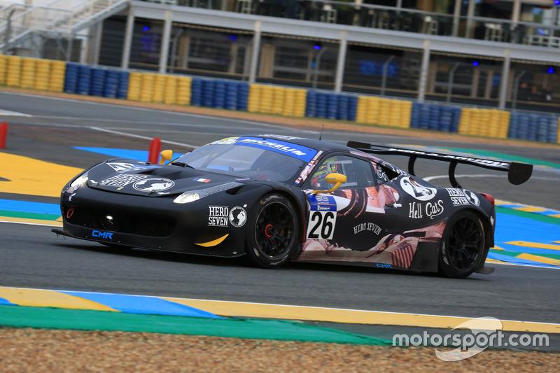 Николя Мисслен, Матье Ваксивьер, #26 Classic & Modern Racing Ferrari 458 Italia GT3