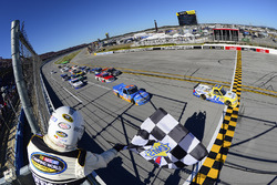 Grant Enfinger, GMS Racing Chevrolet takes the win