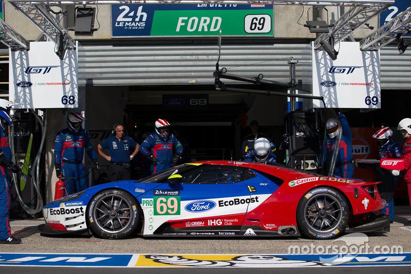 36. №69 Ford Chip Ganassi Racing Ford GT: Райан Бриско, Ричард Уэстбрук, Скотт Диксон