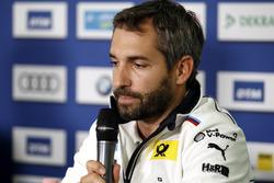 Persconferentie: Timo Glock, BMW Team RMG, BMW M4 DTM