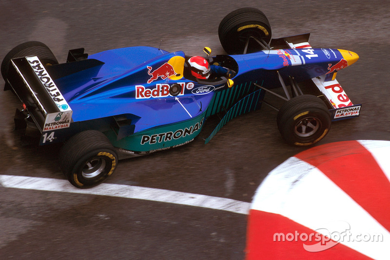 Johnny Herbert, Sauber C15 Ford, 1996