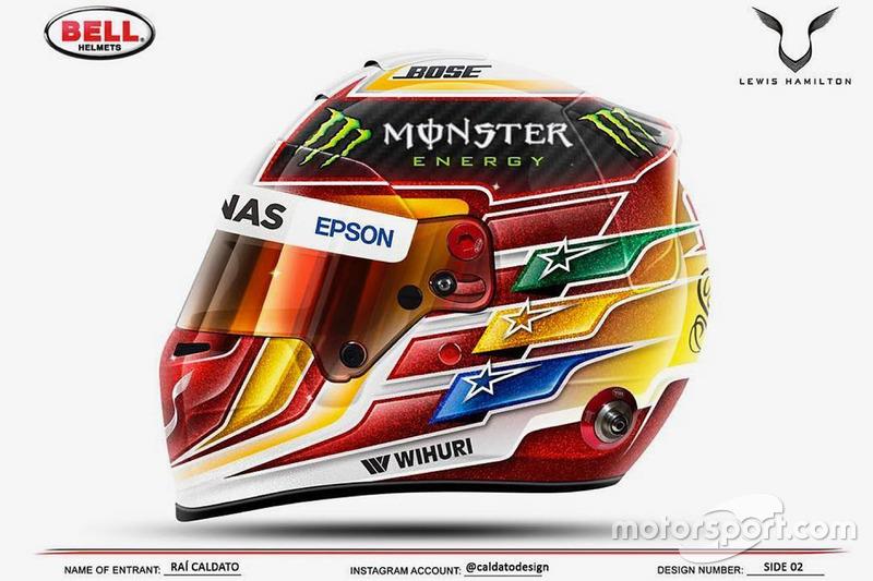 Un casco para el debut de la temporada 2017