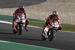 Jorge Lorenzo, Ducati Team, Danilo Petrucci, Pramac Racing
