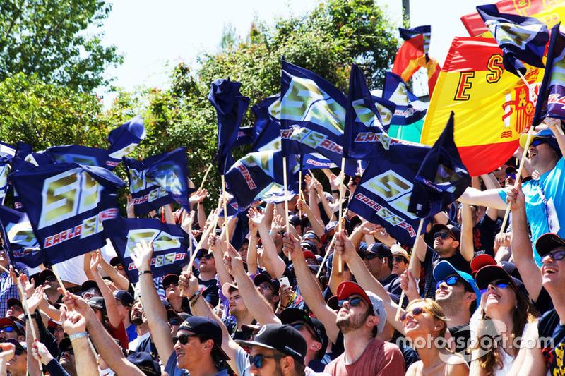 Grada Carlos Sainz en el Circuit de Barcelona-Catalunya