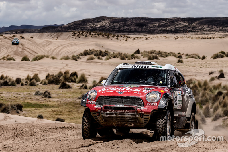 #325 X-Raid Team Mini: Stephan Schott, Paulo Fiuza