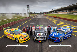 Todd Hazelwood, Tim Blanchard, Brad Jones Racing Holden, Nick Percat, Macauley Jones, Brad Jones Racing Holden, Tim Slade, Ash Walsh, Brad Jones Racing Holden