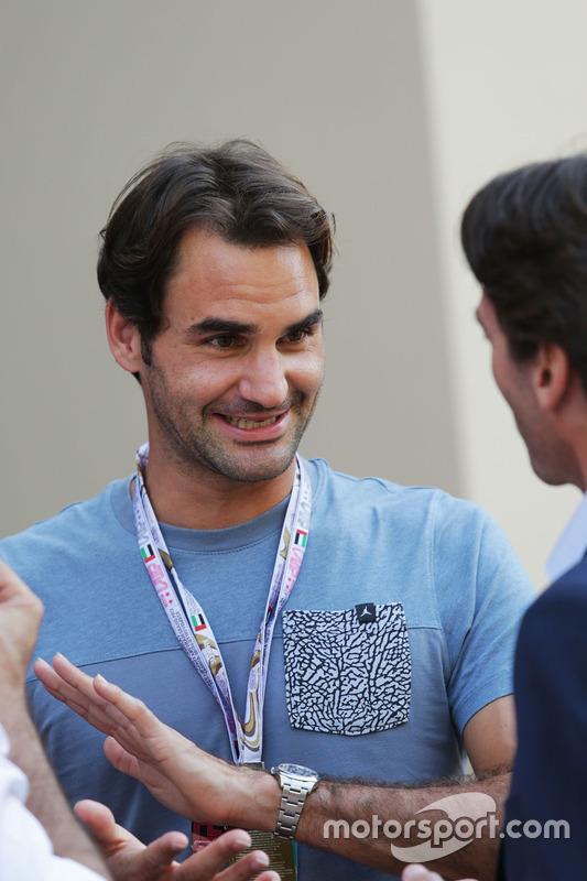 El Tenista Roger Federer
