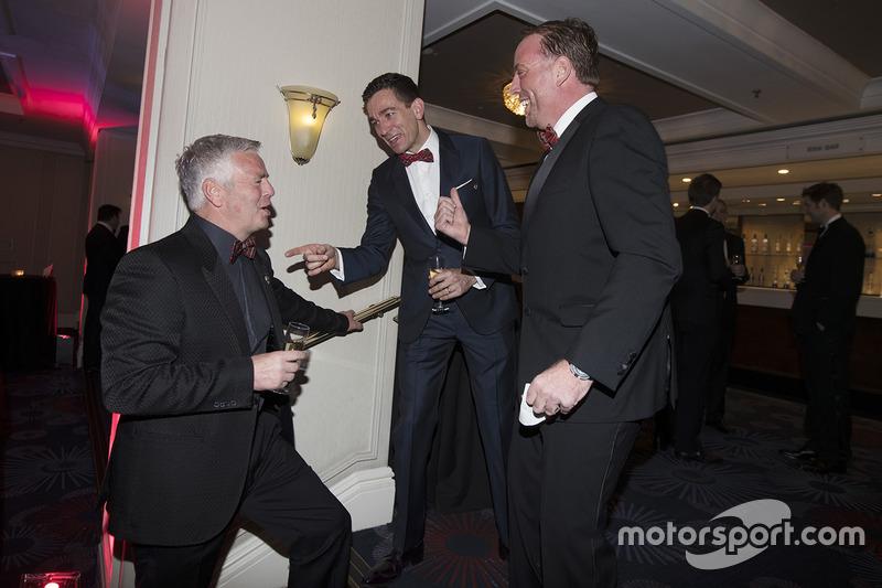 Derek Warwick y Oliver Gavin