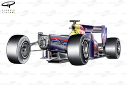 Red Bull RB5 2009 chassis without nosecone view