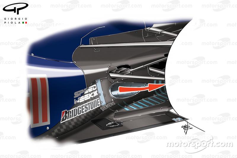 Red Bull RB6: Angeblasener Diffusor