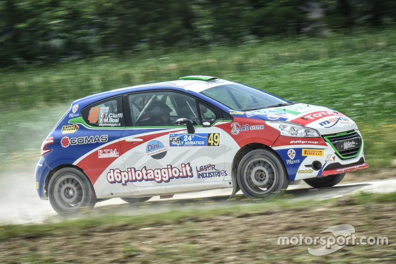 Tommaso Ciuffi Peugeot 208 R2b A Rally Adriatico Cir Foto