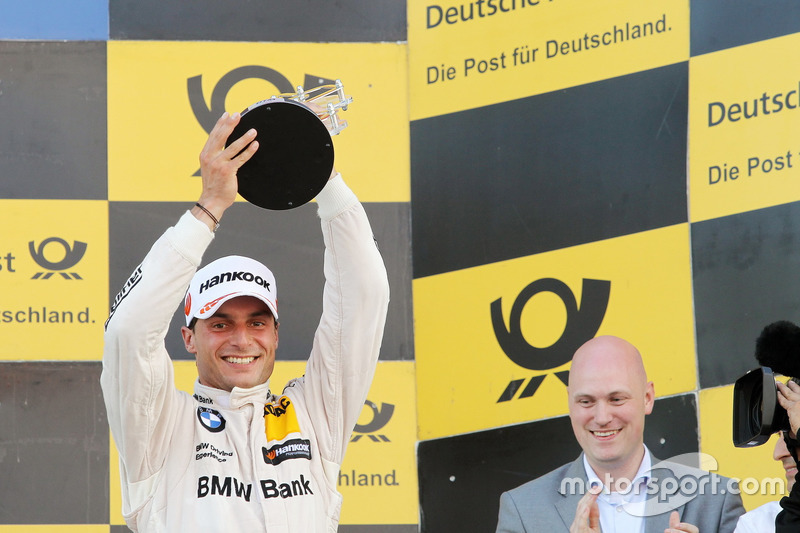 Podium: third place Bruno Spengler, BMW Team RBM, BMW M4 DTM