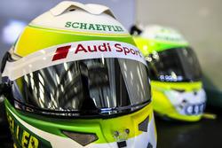 Helmet of Mike Rockenfeller, Audi Sport Team Phoenix, Audi RS 5 DTM