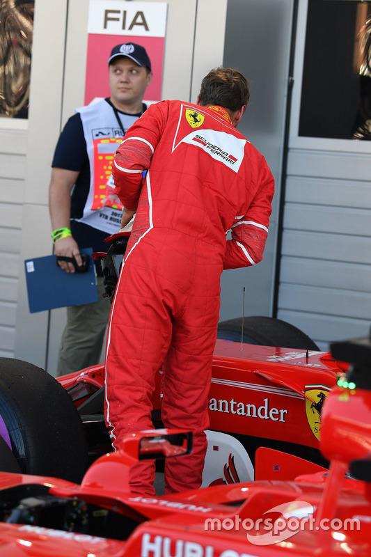 Поул-сіттер Себастьян Феттель, Ferrari