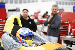 Fernando Alonso, fitting del sedile