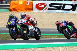Valentino Rossi, Yamaha Factory Racing, Andrea Dovizioso, Ducati Team, Maverick Viñales, Yamaha Factory Racing