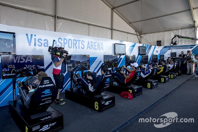 eSports competiciones entre los conductores de la Fórmula E