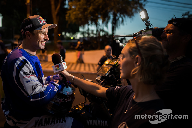 #5 Yamaha Official Rally Team: Элдер Родригес