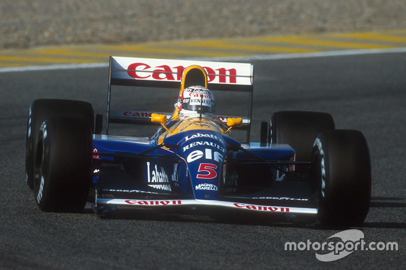 Найджел Мэнселл, Williams FW14B Renault