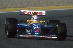 Найджел Менселл, Williams FW14B Renault