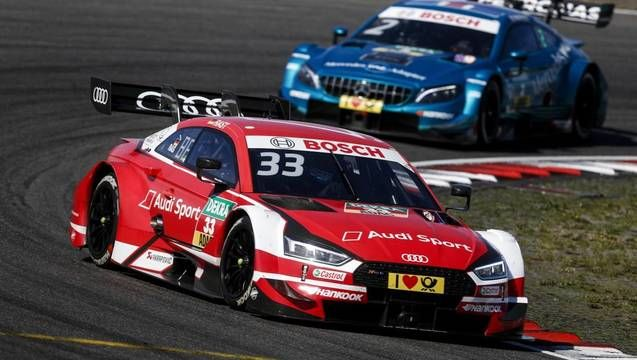 DTM Highlights - Nurburgring Race 1