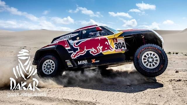 Dakar 2019: 8. Etappe, Highlights Autos & SXS