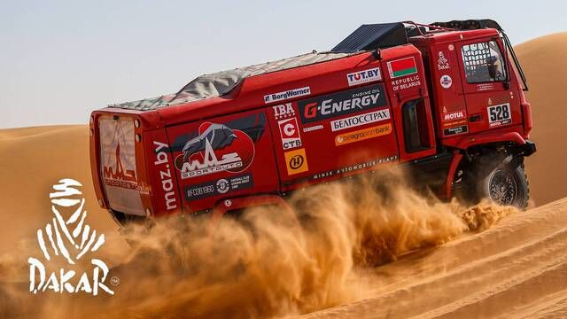 Dakar 2020: Day 7 Highlights - Trucks