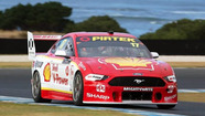 Mustang takes to track for first time at Supercars Test