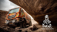 Dakar Rally: Day 9 highlights - Trucks