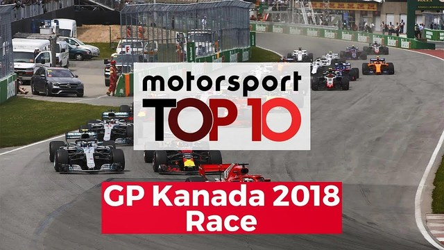Top 10 Highlights Race | GP Kanada 2018