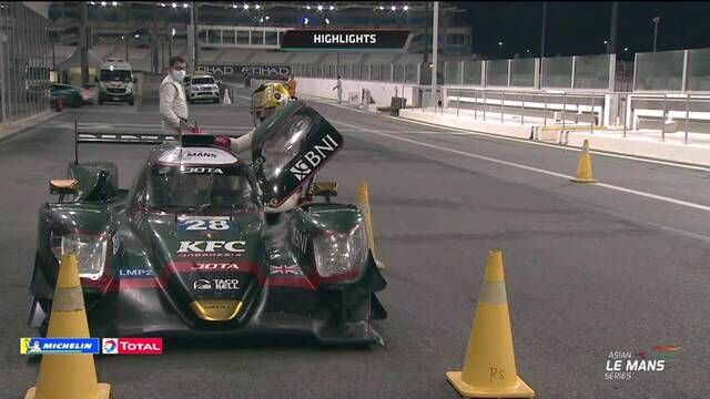 Asian Le Mans Series: Round 4 - Abu Dhabi full race highlights