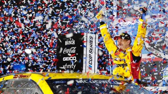 Daytona 500 winner Michael McDowell: 'I cant believe it!'